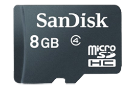 Micro SD Card for Senior Tablet Computer