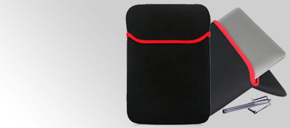 Included Protective Sleeve and Stylus