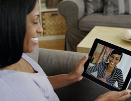 STAYING IN-TOUCH USING VIDEO CHAT
